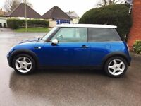 Mini cooper. Hyper blue chrome interior and exterior packs. New tyres and exhaust recent full servic