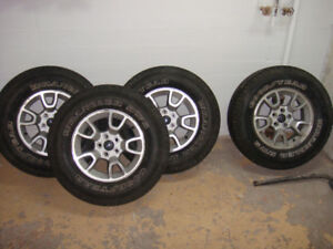 Ford Ranger FX4 Rims w/ 255 70 16 Tires