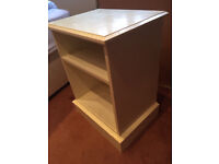 Bedside Table Solid timber construction hand painted to sponged effect