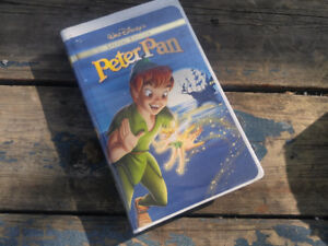 DISNEY Peter Pan SPECIAL EDITION Animated Family Video VHS 2002