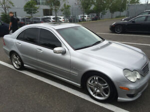 2002 Mercedes-Benz C-Class c32 amg 400hp Berline