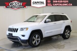 2015 Jeep Grand Cherokee Limited 4WD *Navigation-Heated Seats-Re