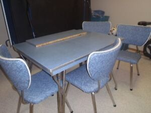 Retro kitchen table with chairs for sale