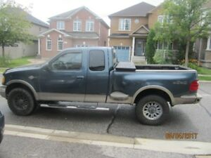 2003 Ford F-150 King Ranch Pickup Truck 4x4 V8 EXT cab