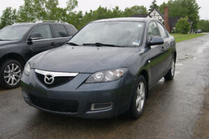 2009 Mazda Mazda3 Sedan like new low km