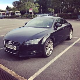 Audi TT 2.0 TFSI Exclusive Line 3dr, Black, 2008, Full Dealer Service History