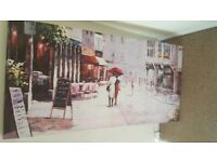 Large Canvas poster