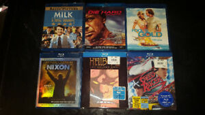 Blu-ray Disc LOT of 6 movies DVD