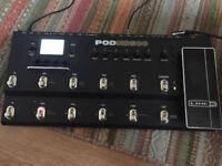 Line 6 POD HD500 effects pedal