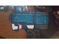 Mad Catz Strike 7 Fancy Keyboard