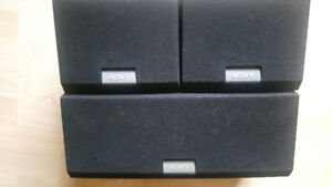 Sony Surround speakers with center channel