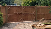Ram fencing ltd. Chainlink, vinyl and wood fencing
