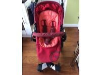 Concord Neo Travel System - Pushchair, carrycot and car seat.