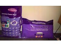 Slumberdown Memory Foam Pillows