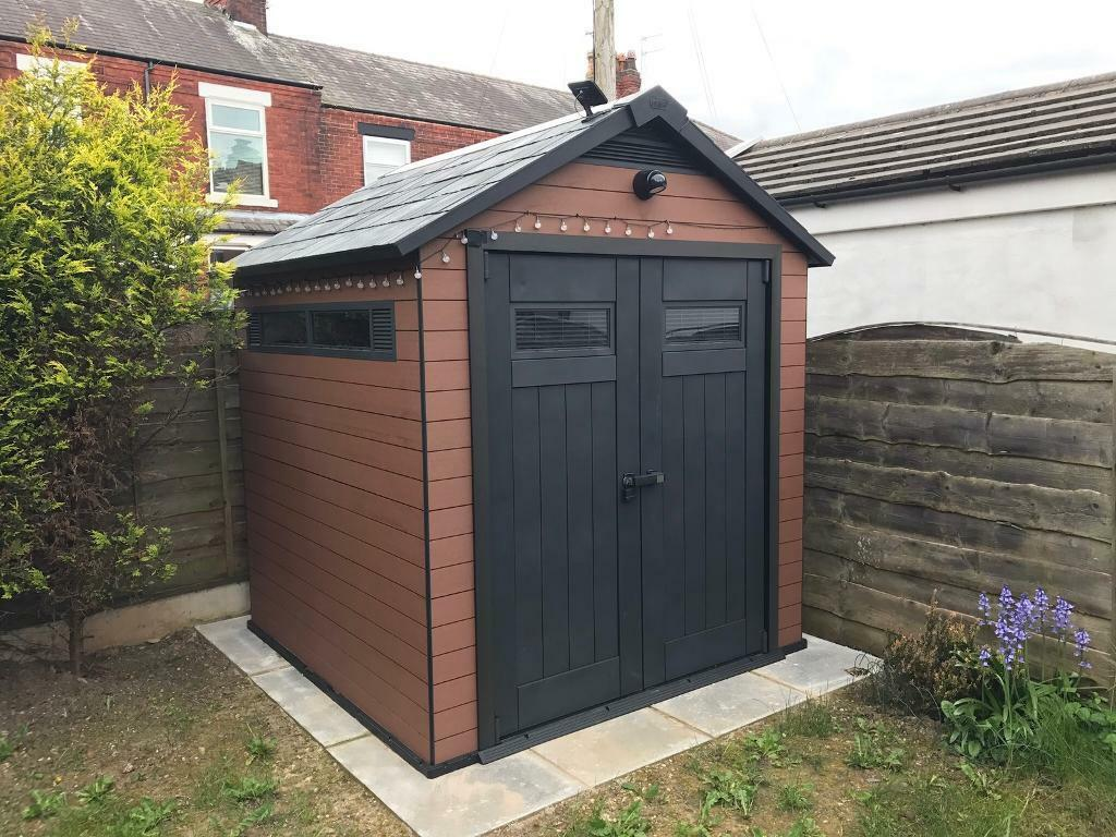 Keter Fusion 757 Shed In Stockport Manchester Gumtree