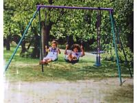Plum Jupiter Swing Set - Brand new in box!