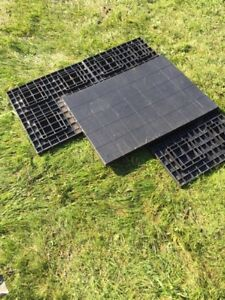 """Heavy duty 2"""" flooring for shed 170 square feet"""