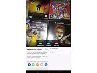 4x GameCube games