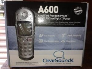 A600 Amplified Freedom Phone with full ClearDigital Power