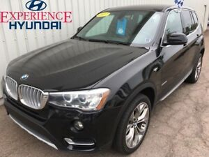 2017 BMW X3 xDrive28i LOADED LUXURY ALL WHEEL DRIVE 8 SPEED WI