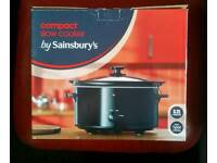 SAINSBURYS COMPACT SLOW COOKER