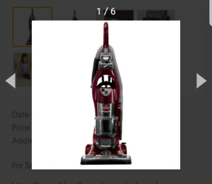 VACUUMS $35 ..EACH  BISSELL POWERTACK CYCLONIC