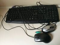 Acer keyboard + 2 pc/laptop mouse (wired)