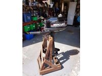 4 hp Mercury outboard - good condition