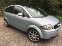 Audi A2 1.6FSI Sport Blue Superb Condition
