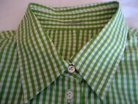 Shirt, Van Laack 3/4 Sleeve, Size 18, QUALITY 100% Cotton - Attention to Detail