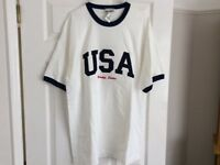 Genuine American tee shirt. As new with Disney label.