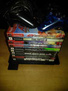 Selling PS2 with 10 Games
