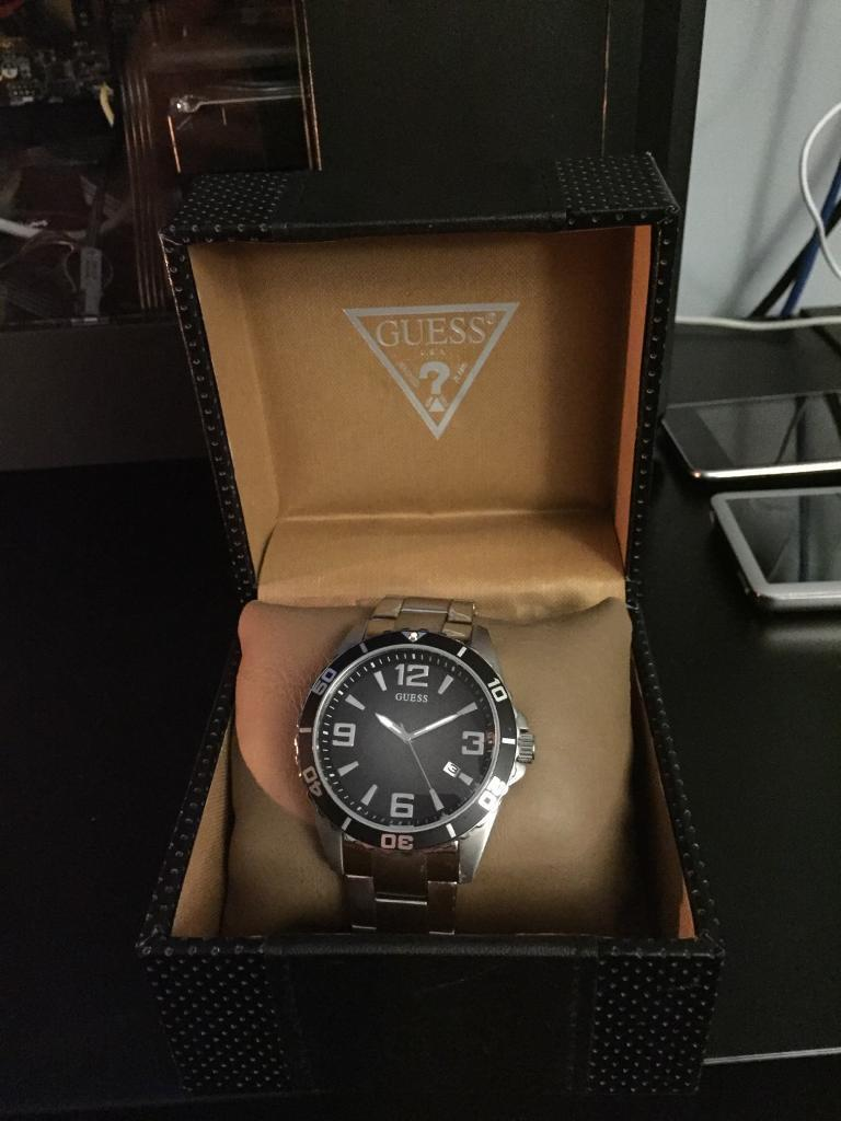 Guess Men's Stainless Steel Wristwatch