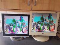 """!7"""" LG Monitors"""