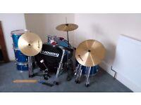 Ludwig Drum Set (Teal)