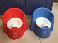 Two Baby Bjorn Potties Available in Excellent Condition, As New