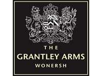Kitchen Porter (live out) - The Grantley Arms - up to £7.50/hr + GREAT TIPS (around £2.5K/annum)