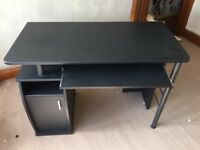 Black computer desk for sale
