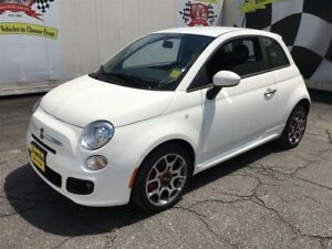 2013 Fiat 500 Sport, Automatic, Leather, Power Group, 41, 000km