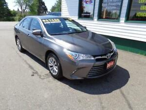 2015 Toyota Camry LE only $139 bi-weekly all in!