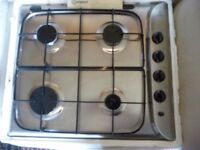 Indesit Stainless Gas Hob - unused
