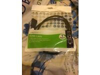 HDMI Cable 1 metre black