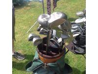 Green Golf B & Clubs