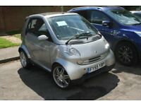 Low mileage Smart Fortwo Cabrio Passion in good condition
