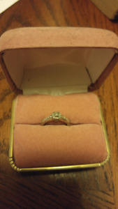 .25CT woman's ring  size 5.5 ring