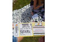 V festival ticket-weston park staffordshire