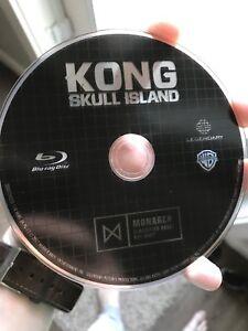Kong : Skull Island Blu Ray Disc