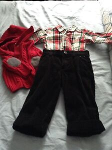 Christmas outfit from Gymboree