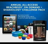 Beachbody On Demand Challenge Pack w/ 1 Year Membership