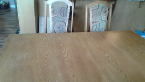 DINING room set must go - price reduced